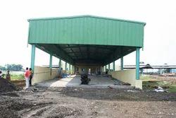 Steel Prefab Warehouse Sheds