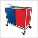 Medical Linen Trolley