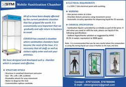 Disinfectant Chamber