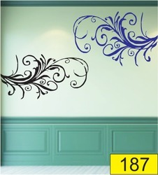 Decorative PVC Wall Stencil