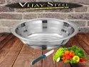 Stainless Steel Silver Touch Basin