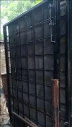 Iron Door With Net