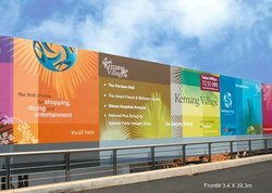 Rectangle Flex Banner Printing Services, For Advertising