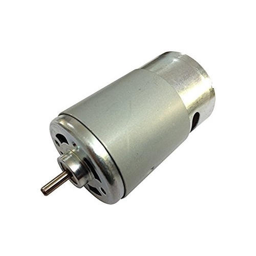 2800 RPM 12 V DC Low Current Draw Electric Motor with Plastic Gear 3 Pin