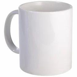 Plain White Ceramic Coffee Mug For Sublimation Printing