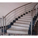 Residential Stainless Steel Staircase Railing