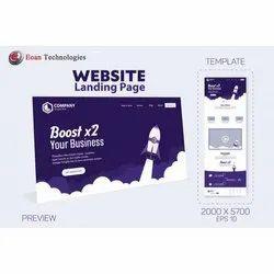 Css 3000 Landing Page Designing