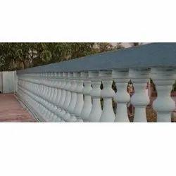 Gray RCC Railing Pillar
