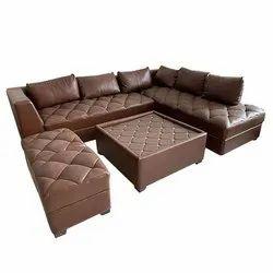 7 Seater L Shape Corner Sofa Set