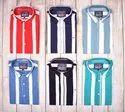 DJ Men Stripes Shirt