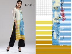 Best Fancy Printed Kurti