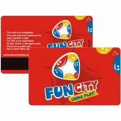 Red Plastic Discount Cards