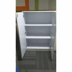 White Wooden Storage Cupboard