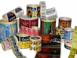 Adhesive Paper Stickers, Packaging Type: Roll