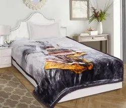 Single mink Blankets