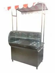Bend Glass Chaat Counter