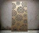 Chrysanthemum Botanical Laser Cut Metal Screens and Sheet Boards