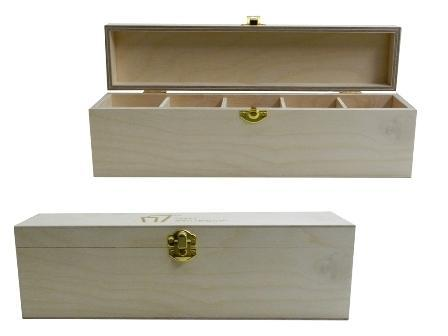 Wooden Spice Storage Boxes