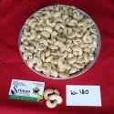 White W180 Organic Cashew Nut, Pack Size (kg): 250 Gm To 20 Kg
