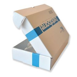 Printed Flat Corrugated Boxes