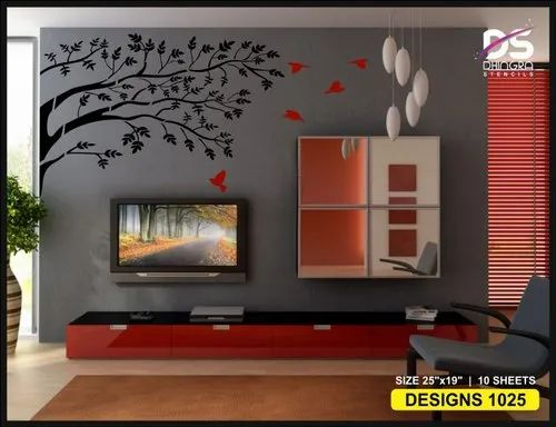 Wall Stencils Design For Commercial Laxmi Brushware India Id 21050789812