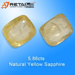 Yellow Sapphire Ceylone