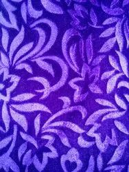 60-Knitted Stretch Semi Two Way Embossed Velvet Fabric