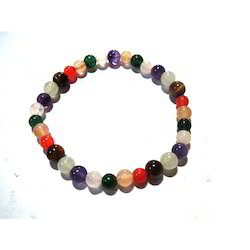 Chakra Stones Gemstone Beads Bracelet