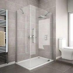 Square Bathroom Glass Shower Enclosure