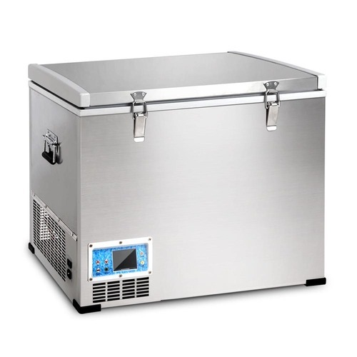 mini fridge with a freezer