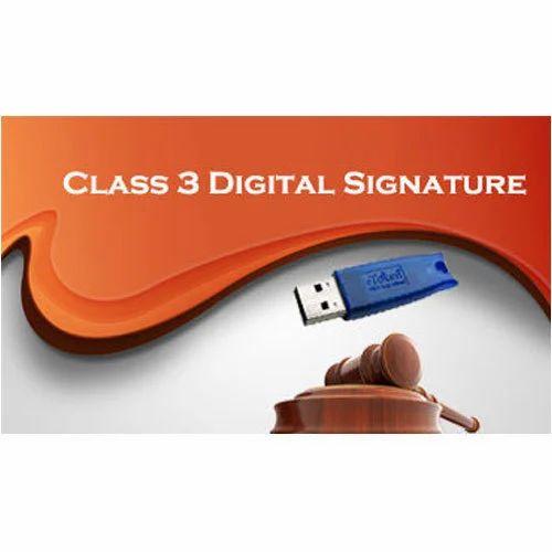 Class 3A Digital Signature Service