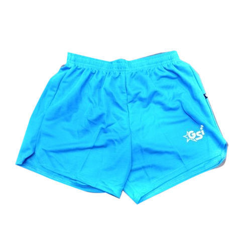 017997b7e1b6 Polyester And Cotton Sky Blue Sports Running Shorts