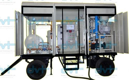 Double Stage Transformer Oil Filter Machine