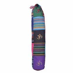 Shoulder Bag Embroidered Om Patch Yoga Mat Cover