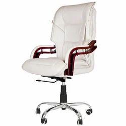 Cream Colored Ergonomical Chair
