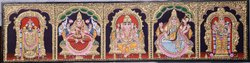 5 Panel Balaji, Lakshmi,Ganapathi, Saraswati, Murugan