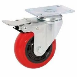 Movable Caster Wheel With Break