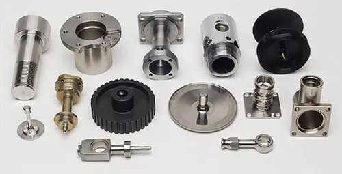 Mild Steel CNC Metal Turned Precision Parts and Components, Packaging Type: Box