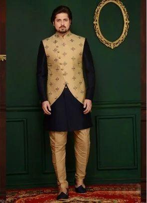 61f1951c0 Brocade Printed Indo Western Fabrics, Use: Suit And Sherwani, Rs 650 ...