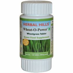 Wheatgrass 120 Tablet Wheat-O-Power - Immunity & Blood Purification