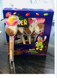 Joker liquid chocolate in blister packaging