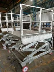 Stainless Steel (SS) Scissor Lifts