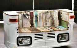 Truck Front Industrial Sofa