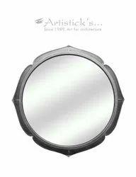 Decorative Copper Mirror