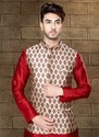 Readymade Kurta Pyjama With Nehru Jacket