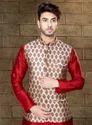 Readymade Kurta Pyjama With Nehru Jacket