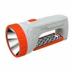 Plastic Tuscan TSC-5529 Rechargeable LED Torch, Capacity: 800 mAh, Battery Type: Lead-Acid