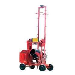 Builder Hoist With Mixer
