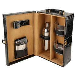 Black Croco - 02 Portable Cocktail Set