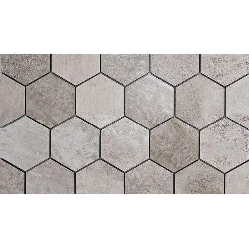 Cement Hexagonal Tiles 60mm Rs 12